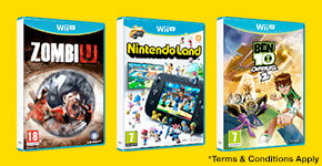 3 for 2 on pre-owned Wii U and Wii games - Buy now at GAME.co.uk!