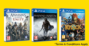 Preowned Games Buy one get one half price on PS4 – Buy now at GAME.co.uk!