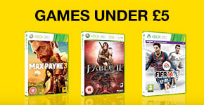 Games Under £5 - Buy Now at GAME.co.uk!