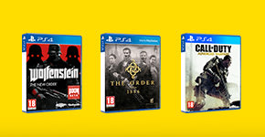 Preowned Shooting games from £9.99 PS4 – Buy now at GAME.co.uk!