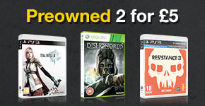 Preowned Games 2 for £5 - Buy Now at GAME.co.uk!