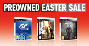 Easter SALE for PlayStation 3 - Buy Now at GAME.co.uk!