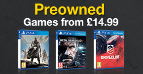 Preowned Games from £14.99 for PlayStation 4 - Buy Now at GAME.co.uk!