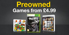 Preowned Games from £4.99!