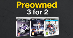 Preowned 3 for 2 for PlayStation 3 - Buy Now at GAME.co.uk!