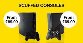 Pre-owned 'Scuffed' Consoles!