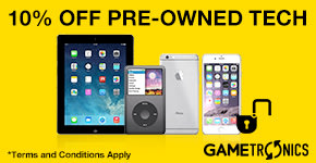 10% Off Pre-owned Tech