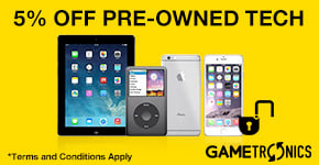 5% Off Pre-owned Tech