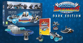 Only at GAME - Skylanders SuperChargers Dark edition - Preorder Now at GAME.co.uk!
