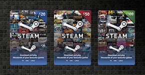 Steam Top-up, order Now at GAME.co.uk!