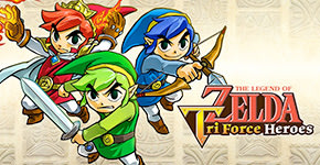 The Legend of Zelda Triforce Heroes for Nintendo 3DS - Download Now at GAME.co.uk!