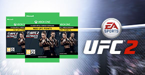 UFC Points for Xbox One - Download Now at GAME.co.uk!