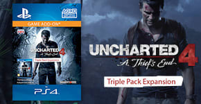 Uncharted 4 Triple Pack DLC for PS4 - Pre-purchase Now at GAME.co.uk!