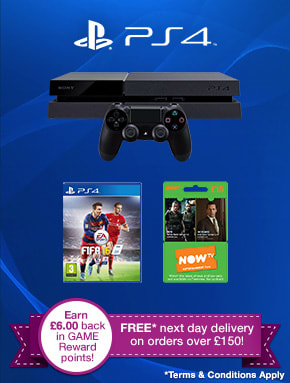 PlayStation 4 Consoles - Buy Now at GAME.co.uk!