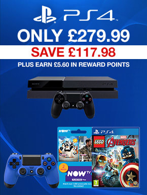 PS4 500GB and 1TB Console bundles available - Buy Now at GAME.co.uk!