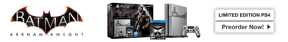 Batman Arkham Knight - Preorder Now at GAME.co.uk