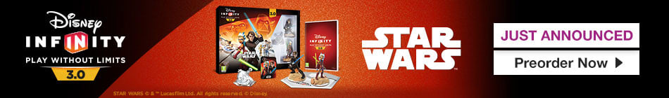 Disney Infinity 3.0: Play without Limits - Preorder Now at GAME.co.uk
