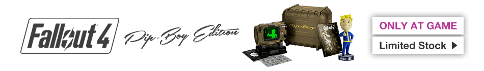 Fallout 4: Pip-Boy Edition - Preorder now at GAME.co.uk!