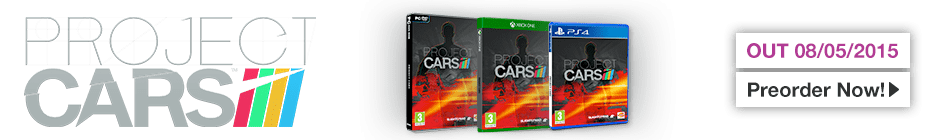 Project Cars - Preorder Now at GAME.co.uk