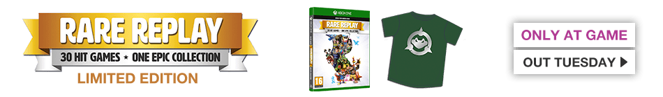RARE Replay Collection - Order now at GAME.co.uk!