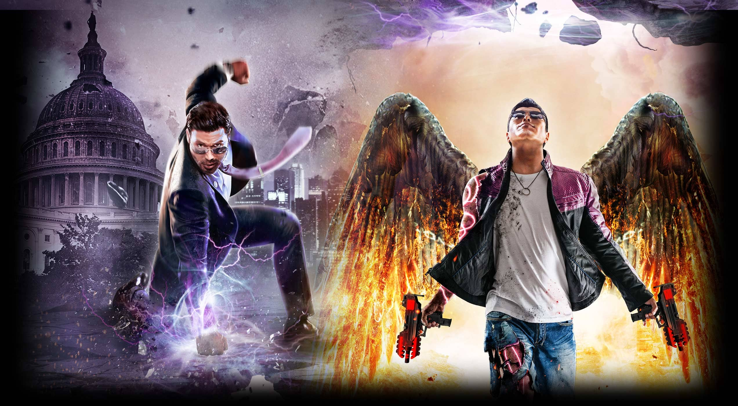 Saints Row IV Re-Elected & Gat Out Of Hell - Buy Now at GAME.co.uk
