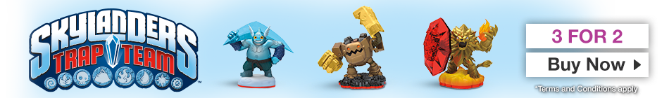 Skylanders 3 for 2 – Order Now at GAME.co.uk!