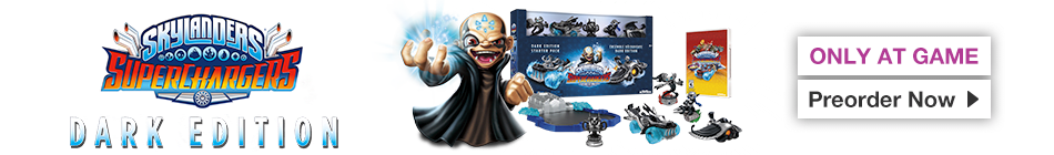 Skylanders Superchargers Dark Edition - Order now at GAME.co.uk!