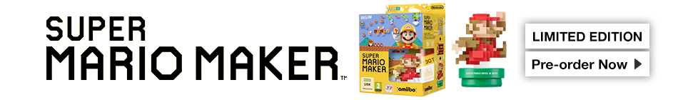 Super Mario Maker - Pre-order Now at GAME.co.uk!