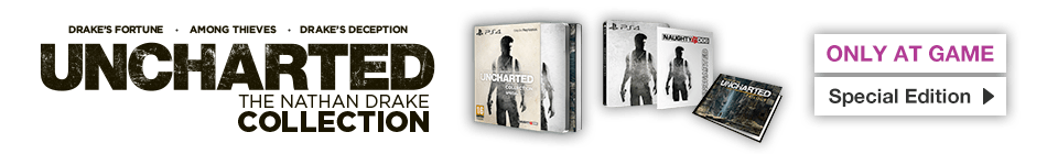 Uncharted Nathan Drake Collection Special Edition - Order Now at GAME.co.uk!