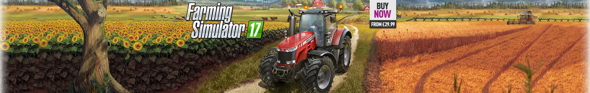 Farming Simulator 17 for Xbox One, PS4 and PC  - Buy Now at GAME.co.uk!