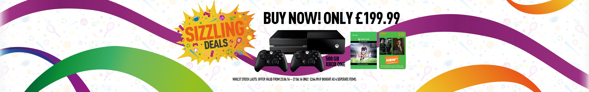 Sizzling Deals Xbox One Console Deal Only At GAME - Buy Now at GAME.co.uk!