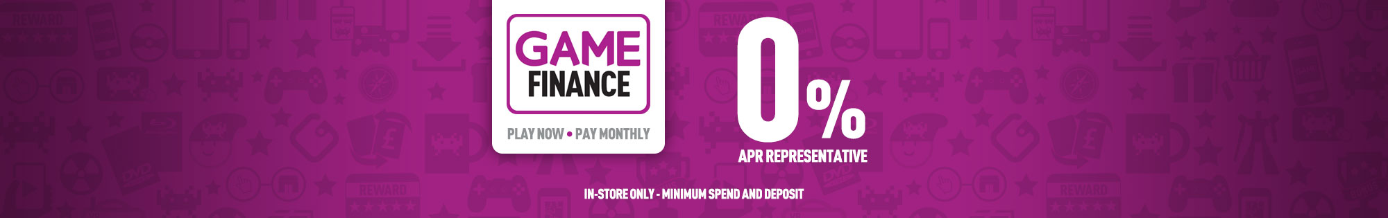 Linited time only Finance offer 0% APR- Buy Now at GAME.co.uk!