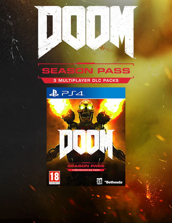 DOOM Season Pass for PlayStation Network - Download Now at GAME.co.uk!