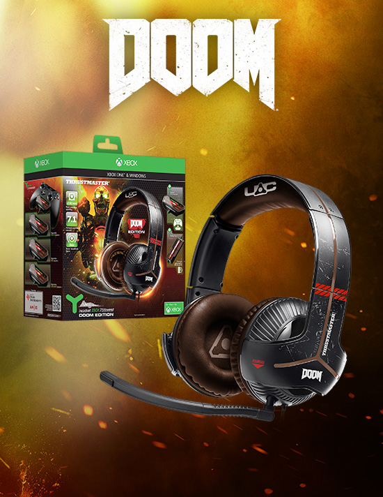 DOOM Headsets for Xbox One - Buy Now at GAME.co.uk!