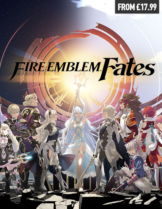 Fire Emblem Fates for Nintendo 3DS - Pre-order Now at GAME.co.uk!