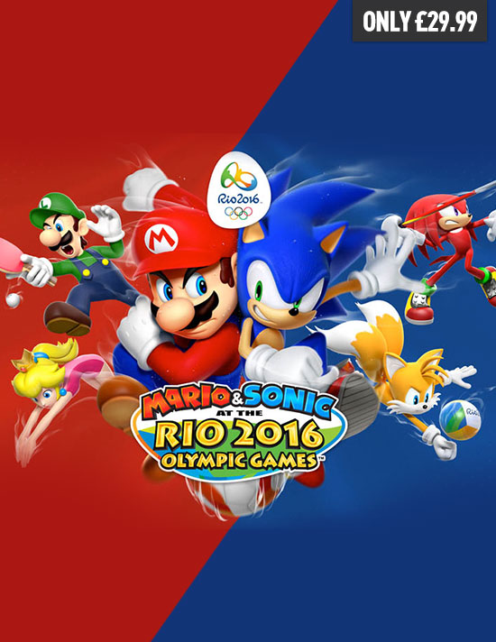 Mario and Sonic at the Rio 2016 Olympic Games on Wii U - Pre-order now at GAME.co.uk
