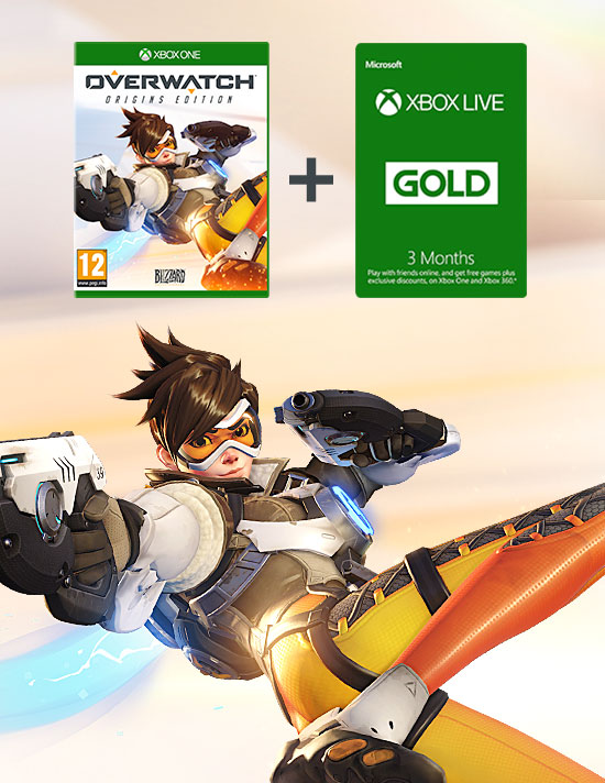 Overwatch with 3 Month Xbox LIVE Subscription on Xbox One - Download Now at GAME.co.uk!