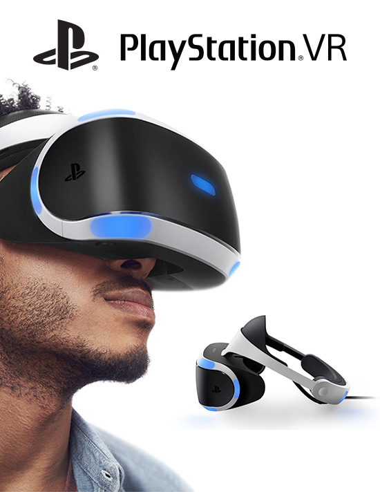 PlayStation VR for PS4 - Pre-order Now at GAME.co.uk!