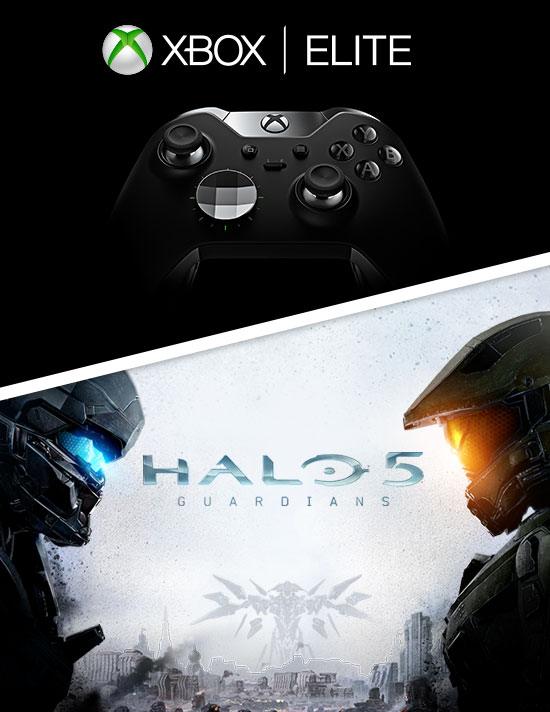 The Elite Controller and Halo 5 for Xbox One - Buy Now at GAME.co.uk!