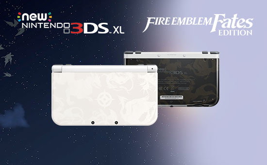 Fire Emblem Fates Limited Edition New 3DS XL for Nintendo 3DS - Pre-order Now at GAME.co.uk!