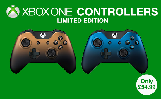 Limited Edition Official Controllers for Xbox One - Buy Now at GAME.co.uk!