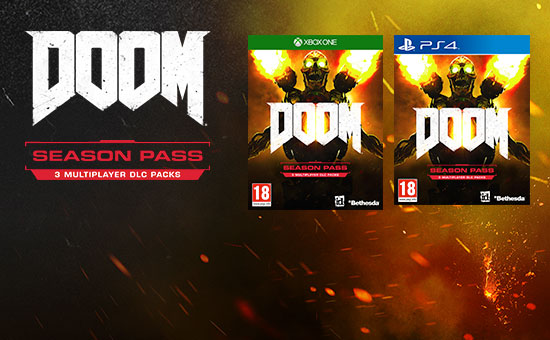 DOOM Season Pass for PSN and Xbox Live - Download Now at GAME.co.uk!