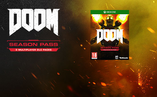 DOOM Season Pass for Xbox Live - Download Now at GAME.co.uk!