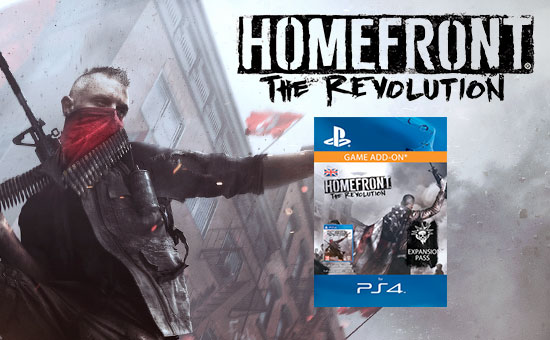 Homefront: The Revolution Season Pass for PlayStation Network - Pre-purchase Now at GAME.co.uk!