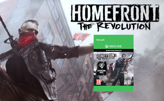 Homefront: The Revolution Season Pass for Xbox Live - Pre-purchase Now at GAME.co.uk!