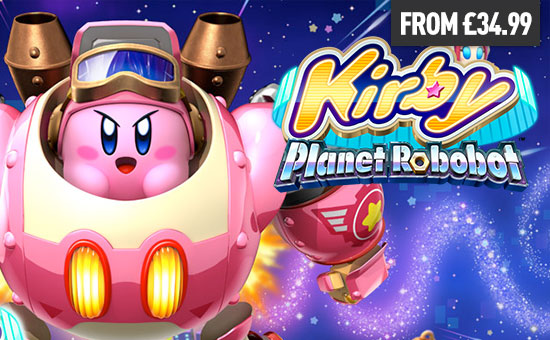 Kirby Planet Robobot for Nintendo eShop - Download Now at GAME.co.uk!