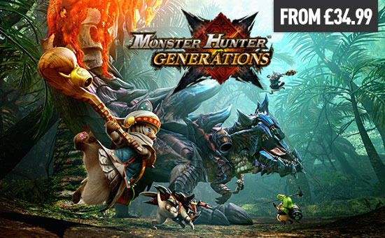 Monster Hunter Generations for Nintendo eShop - Download Now at GAME.co.uk!