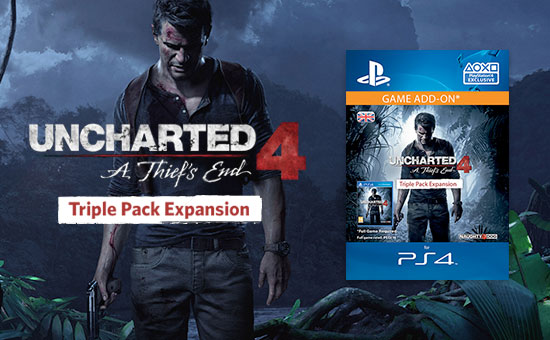 Uncharted 4 Triple Pack for PlayStation Network - Download Now at GAME.co.uk!