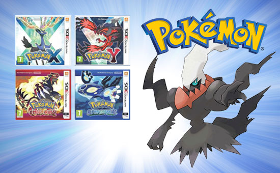 Pokemon Darkrai Promo for Nintendo 3DS - Buy Now at GAME.co.uk!