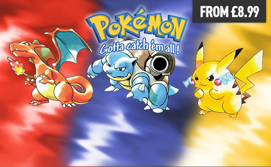 Pokemon Red/Blue/Yellow for Nintendo eShop - Download Now at GAME.co.uk!